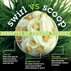 What's in your spoon should matter. #SwirlvsScoop