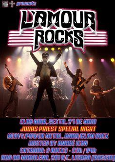 L'AMOUR ROCKS - Judas Priest Special Night Sexta 27 de Maio Evento: https://www.facebook.com/events/1085749094815714/ #HardRock #HeavyMetal #GlamRock #GlamMetal #80sMetal #AOR  Heavy/Power Metal, Hard/Glam Rock Hosts: André Icon Entrada 2 Euros Aberto das 23 às 4