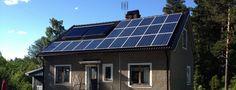 Villa Hälleforsnäs – Solceller 4,9 kW