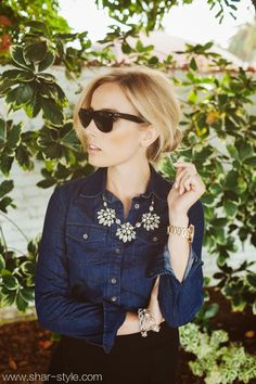 Shar Style By Sharrah Robeson: 3 Ways to Wear Chambray: Preppy & Chic Chambray