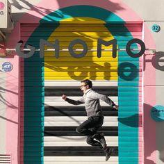 Si tú saltas, yo salto. # jump #j umpstyle # jumping # salto # saltar # Gnomo # Valencia # València # Ruzafa # Russafa # fachadas # fachadasbonitas # facade