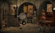 The Medieval Smithy SIMS 2: Alchemy Set (Part 2)