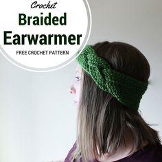Braided Headband or Earwarmer - Free Crochet Pattern