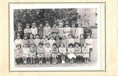 Photo de classe CP de 1962, Ecole Poincare (thionville)