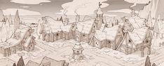 town , del goni on ArtStation at https://www.artstation.com/artwork/QBKP3