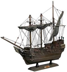 Look for a model of the Black Pearl in the Pirates of the Caribbean gift shops at Disneyland