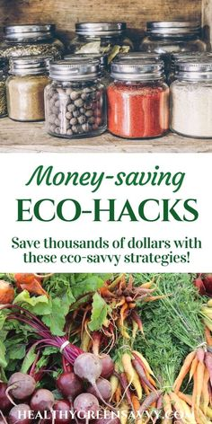 Go green to save some serious green! Check out these easy strategies for greener living that can save you hundreds, even thousands, of dollars. Go Green, Green Life, Organic Living, Natural Living, Green Living Tips, Eco Friendly House, Sustainable Living, Sustainable Energy, Sustainability