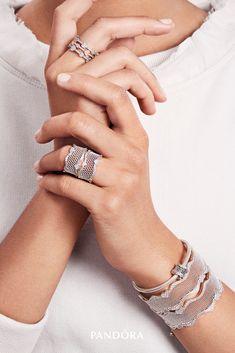 da9f55c14 Get Jewelry Style Inspiration | PANDORA Jewelry US. Pandora RingsPandora ...