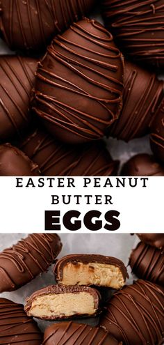 Spring Recipes, Easter Recipes, Egg Recipes, Sweet Recipes, Holiday Recipes, Homemade Chocolate, Chocolate Desserts, Candy Recipes, Dessert Recipes
