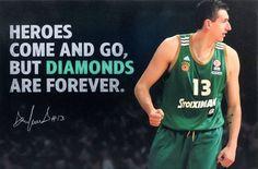 Dimitris Diamantidis Come And Go, Sports Shops, New Love, Kobe Bryant, My World, Beautiful World, Tank Man, Basketball, Faith
