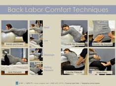 Back labor comfort techniques from CAPPA