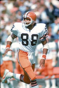 Wide receiver Steve Holden of the Cleveland Browns  1975