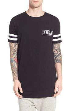 ZANEROBE 'A-Band' Longline T-Shirt available at #Nordstrom