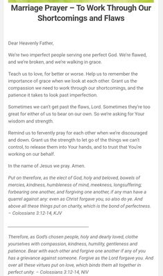 Prayer For My Marriage, Couples Prayer, Marriage Help, Godly Marriage, Strong Marriage, Marriage Relationship, Marriage Advice, Love And Marriage, Relationships