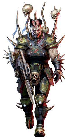 Human Devourer Cultist - Starfinder RPG