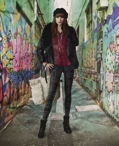 """Love this! Would be cool to incorporate """"street art"""" into a fashion show. Very Detroit-esque,"""