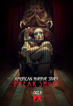 """American Horror Story """"Freakshow"""" S4 Poster"""