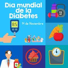 El 14 de noviembre se celebra el Día Mundial de la Diabetes. #EfeméridesNoviembre Diabetes, Editorial, Dbt, Dental, Frases, November, Activities, Health, Teaching Aids