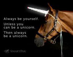 Be a Unicorn.