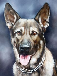 This is an example of a commissioned pet portrait, so, this particular painting is not for sale. I can do a painting of your special pet from your submitted photographs. F.YO. I want to add... my art is painted the old-fashioned way... with real paint and real brushes. In no way is any