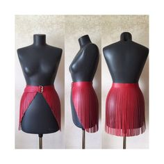 "Leather harness ""Fringe wings"" in 1 leder burning man woman black belt straps outfit skirt jenner club rock wear body harness crop top) Diy Corset, Leather Fringe, Leather Belts, Leather Skirt, Fringe Skirt, Skirt Belt, Skirt Fashion, Fashion Dresses, Man Fashion"