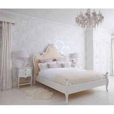 NEW! Provencal Magnifique Upholstered Luxury Bed