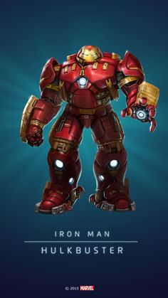 (HulkBuster In: Marvel Puzzle Quest!) By: Amadeus. Marvel Comics, Marvel Fanart, Heros Comics, Marvel Comic Universe, Marvel Heroes, Marvel Avengers, Ms Marvel, Captain Marvel, Comic Movies