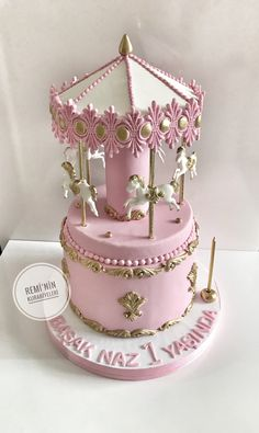 Atlıkarınca pasta