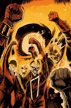 Ghost Racers #4 by Francesco Francavilla *
