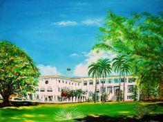 King's House is the official residence of the Governor-General of Jamaica, who represents the Jamaican Monarch, and head of state. By the year 1690, the first official residence in Jamaica was in Port Royal.