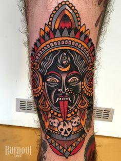 Kali Tattoo   BURNOUT INK TATTOO PARLOUR   Palma de Mallorca, Spain, Tattoo Mallorca, Tatuajes Palma de Mallorca, Tättowierungen Mallorca
