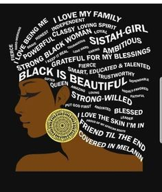 Black is Beautiful Typography Hair Art for Black Women Black Love Art, Black Girl Art, My Black Is Beautiful, Black Girl Magic, Beautiful Eyes, Black Girl Quotes, Black Women Quotes, Beautiful Drawings, Beautiful Pictures