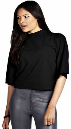 boohoo Alice Turtle Neck Wide Sleeve Swing Top - black Cover up in this cocoon sleeve swing top , and supersize your separates for the new season. Wear it with spray-on skinny jeans , heeled ankle boots and a knock-out necklace . http://www.comparestoreprices.co.uk/womens-clothes/boohoo-alice-turtle-neck-wide-sleeve-swing-top--black.asp
