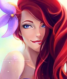 "Ariel by OlchaS.deviantart.com on @DeviantArt - From ""The Little Mermaid"""