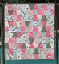 Sew Fantastic's version of the accuquilt tumbler free pattern