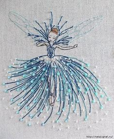 Ballet girl - My WordPress Website satin stitch flower with pisti Red thread – embroidery and needlework - embroidery Beauty and Things (амигуруми, ^ Is this embroidery design amazing, or what? Embroidery Needles, Hand Embroidery Stitches, Embroidery Hoop Art, Hand Embroidery Designs, Embroidery Applique, Cross Stitch Embroidery, Machine Embroidery, Embroidery Ideas, Hand Embroidery Projects