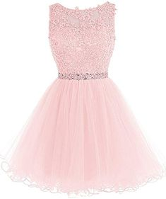 f4585b3fc4 WDING Short Tulle Homecoming Dresses Appliques Beads Prom Party Gown Black