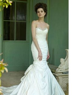 Bridal Gowns: The Collection by Ian Stuart Mermaid Wedding Dress with Sweetheart Neckline and Natural Waist Waistline