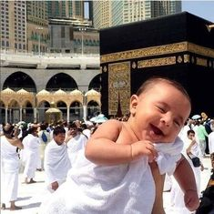 Pin by 🌺Noor🌺 on (((((( k@ gh Muslim Images, Islamic Images, Islamic Pictures, Muslim Couples, Muslim Women, Couple Musulman, Funny Babies, Cute Babies, Mecca Kaaba