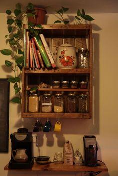 Étagère de cuisine en palette / Kitchen Pallet Shelf • 1001 Pallets