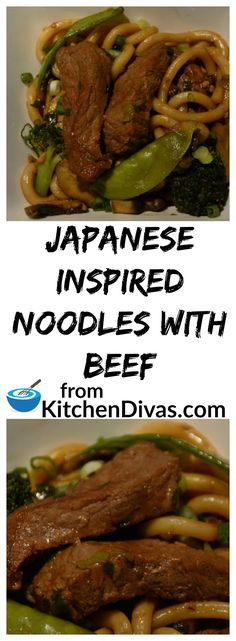 This dish works well with Japanese udon or ramen noodles as well as plain old rice. The sauce is what makes this dish fabulous. You have to check it out! #noodle #Japanese #beef #recipe #stirfry #foodidea