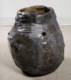 Galia Linn . sperm egg IV (gunmetal), 2015