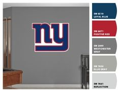 Superb NY Giants Bedroom. See More. Paint Colors From ColorSnap By Sherwin Williams