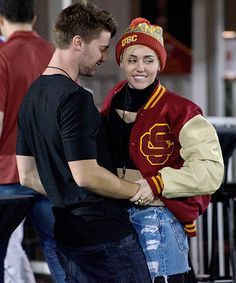 Miley Cyrus and Patrick Schwarzenegger are making their relationship a liiiittle more complicated...