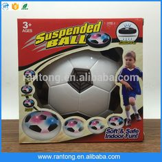 funny Indoor Safe Light-Up Air Power LED Soccer Ball hover soccer ball