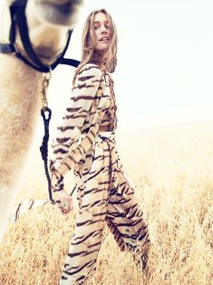 Josephine Le Tutour for Neiman Marcus The Book September 2015 - Roberto Cavalli Fall 2015