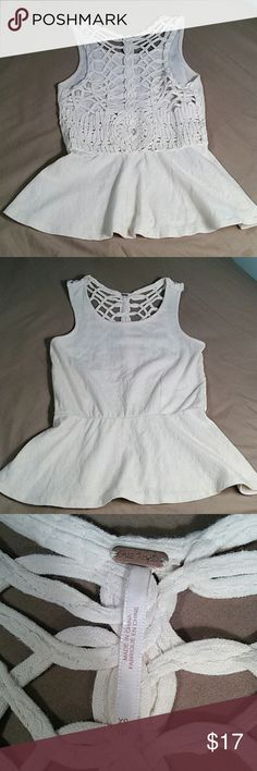 Free People Top Lovely detail..excellent condition Free People Tops