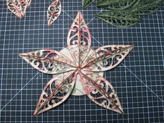 Hello! Like a lot of you, I was also inspired by the beautiful Ornament Star that my friend Elvia made on THIS  post. So of course, I just h...