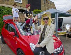 Vauxhall Art Car Boot Fair 2012