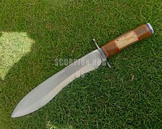 Custom Bowie Knives, Custom Knives, Knife Aesthetic, Benchmade Knives, Engraved Knife, Hand Forged Knife, D2 Steel, Handmade Knives, Fixed Blade Knife